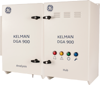 Kelman DGA 900 - gas nine gases plus moisture online monitoring unit for transformers.